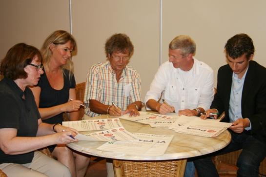 Op 29 juni 2011 tekenden de voorzitters van de afdelingen Nederlek, Bergambacht, Schoonhoven, Ouderkerk en Vlist de oprichtingsakte van de nieuwe afdeling PvdA Krimpenerwaard.
