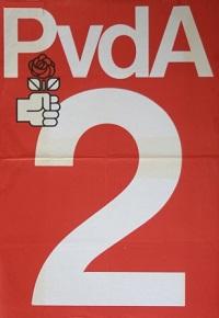 Bij de Tweede Kamerverkiezingen in september 1982 had de PvdA ook lijstnummer 2.