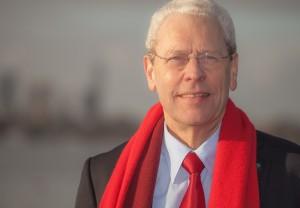 Boudewijn Bruil, de nummer 1 van de PvdA-lijst bij de waterschapsverkiezingen van 18 maart 2015.